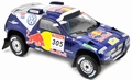 VW Volkswagen Touareg 2009 # 305 Red bull  Paris Dakar 1/18