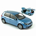 VW Vokswagen Golf Blauw  Blue  1/18