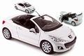 Peugeot 207 CC Cabrio Wit  White 1/18