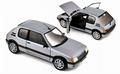 Peugeot 205 GTI 1,6 1988 Zilver  Silver  1/18