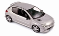 Peugeot 206 RC Zilver Silver 2003 1/18