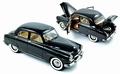 Simca 9 Aronde 1953 Zwart  Black 1/18