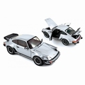 Porsche 911 turbo 3,3 1977 Zilver Silver 1/18
