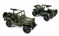 Jeep Willys US Army 1942 Groen  Green 1/18