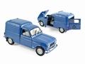 Renault 4 Fourgonnette 1965 Blauw Blue 1/18