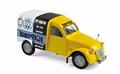 Citroen 2 cv 2 pk Fourgonnette 1956 Geel Yellow Berliet 1/18