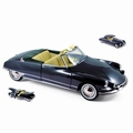 Citroen DS 19 Cabriolet 1961 Blauw Royal Blue + soft top 1/18