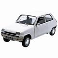 Renault 5 Wit White  1/18