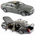 Mercedes Benz S Class 2013 Zilver metallic Silver  1/18