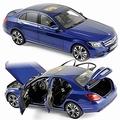 Mercedes Benz C-Class 2014 Blauw metallic Blue 1/18