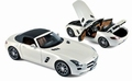 Mercedes Benz SLS AMG Roadster  2011 Wit metallic White 1/18