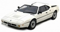 BMW M1 Wit White  1/18