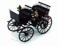 Daimler Motorkutsche 1886 Mercedes Benz Zwart Black 1/18