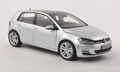 VW Volkswagen Golf 2014  Zilver Silver 1/18
