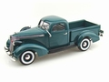 Studebaker 1937 Coupe express Pick up Green Groen 1/18