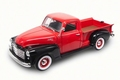 G M C Pick up 1950 Rood Red 1/18
