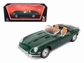 Jaguar E Type 1971 Cabrio  Groen Green 1/18