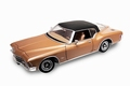 Buick Riviera GS 1971 Bruin metallic Brown + vinyl dak 1/18