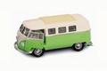 VW Volkswagen T1 micro bus 1962 Groen Beige Green 1/18