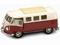VW Volkswagen T1 micro bus 1962 Bruin Beige Brown 1/18