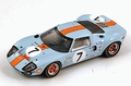 Ford GT 40 # 7  Le Mans 1969 Gulf  1/18