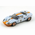 Ford GT 40 # 6 Winner Le Mans 1969 Gulf  1/18