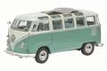 VW Volkswagen T1 Samba Bus Groen Green 1959-1963 1/18