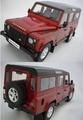 Land Rover Defender 110 Rood  Red 1/18
