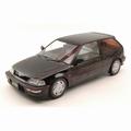 Honda Civic EF-9 SiR 1990  Zwart  Black 1/18