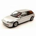 Honda Civic EF-3 Sii 1987 Zilver  Silver 1/18