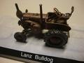 Lanz Bulldog Traktor nostalgie   Roest  kleur Rusty 1/43
