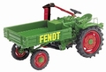 Fend Traktor met laadbak Pick up 1/43