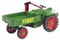 Fend Traktor met laadbak Pick up 1/43