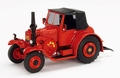 Lanz Eilbulldog Rood Red  + soft top 1/43