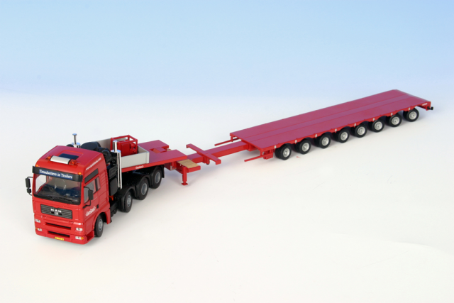 MAN Buller transport Nooteboom 1/50