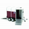 Ifor Williams double Horse box trailer Paarden aanhangwagen 1/32