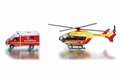 Mercedes benz reddings dienst + helicopter 1/87