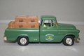 Chevrolet Pick up 1955 Truck Bank  Groen Green 1/25