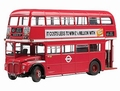 Routemaster London Dubbel  Dekker Rood  Red 1/24