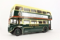 Routemaster London bus Omnibus London Bitter Groen Green 1/24