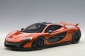 Mc Laren P1 Oranje Vulcano Orange 2013 1/18