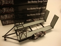 Gas Monkey Garage Auto trailer aanhangwagen zwart- Black 1/18