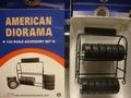 Metalen Banden rek  Metal Tire Rack 1/24