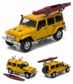 Jeep Wrangler  Unlimited  2016 Geel Yellow + Kano 1/43