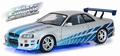 Nissan Skyline GT-R 1999 R 34 Brain's  Fast and Furious 1/18