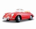 Porsche 356 B Cabriolet 1961 Rood Red 1/18
