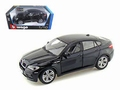 BMW X6 M Zwart  Black 1/18