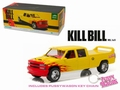 Chevrolet Silverado Pussy Wagon Geel/rood  Yellow/red 1/18