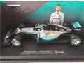 Mercedes Benz F1 W07 Hybrid  Formule 1 2016 # 6 1/18