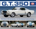 Ford Mustang Shelby GT 350 Prototype Wit/blauw  White/Blue 1/18